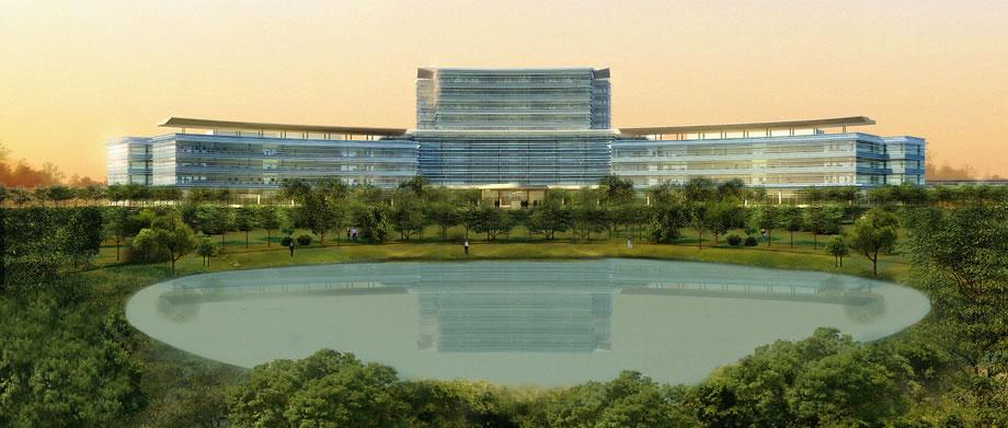Eaton Headquarters Construction 1