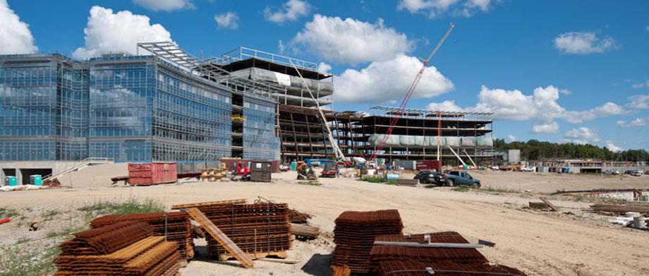 Eaton Headquarters Construction 3