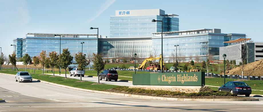 Eaton Headquarters Construction 6